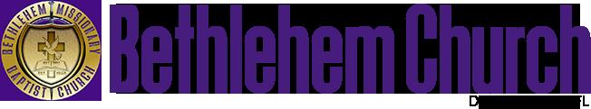 Bethlehem Church Logo